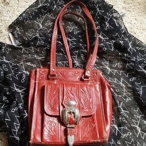 American West Red purse
